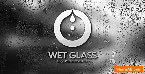 Videohive Wet Glass | Logo-Photo Reveal Kit