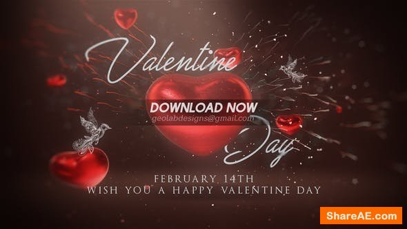 Videohive Valentine Day