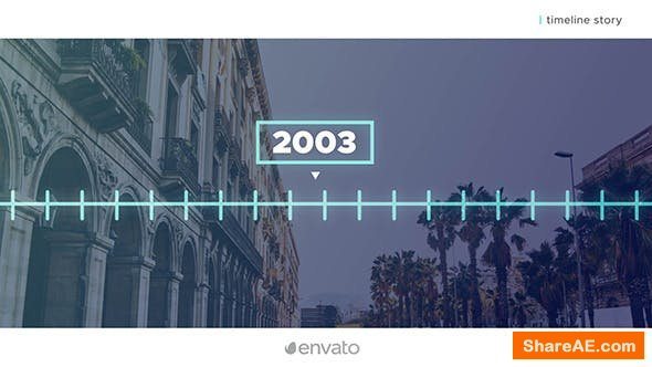 Videohive Simple Timeline