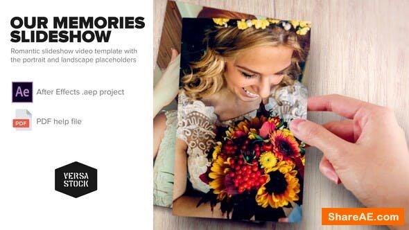 Videohive Our Memories Slideshow
