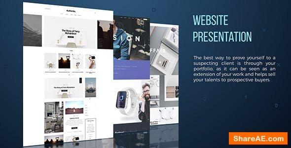 Videohive Website Presentation 19625496