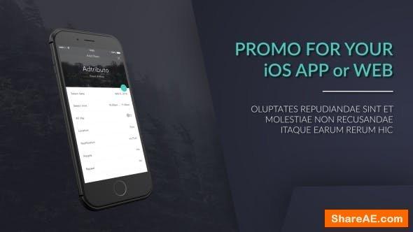 Videohive iPhone Web / App Promo