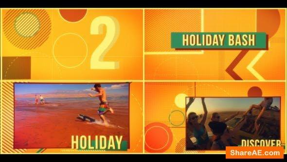 Videohive Holiday Stopmotion