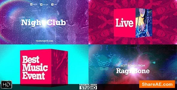 Videohive Favorite Summer Music Event