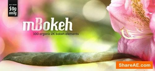 MotionVFK - mBokeh; 100 Organic 2K Bokeh Elements