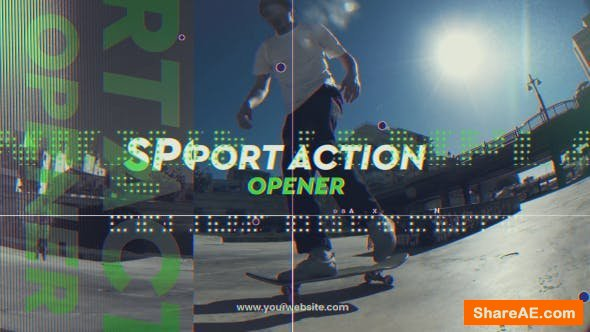 Videohive Sport Action Opener