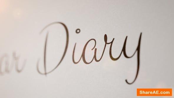 Videohive Flirt - Animated Handwriting Typeface