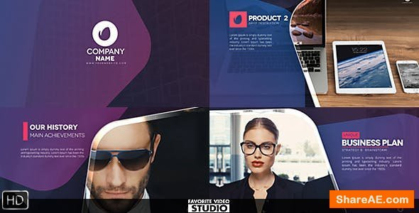Videohive Favorite Business Typography