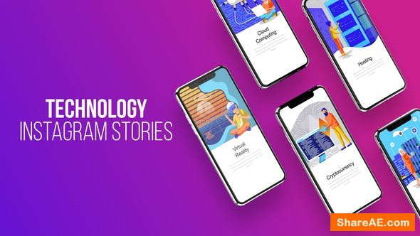 Videohive Technology - Instagram Stories