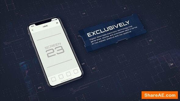 Videohive Digital App Promo - iOS
