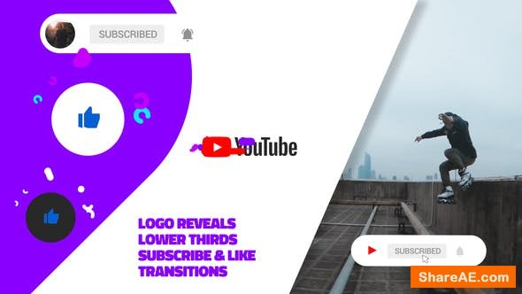 Videohive Modern Youtube Channel