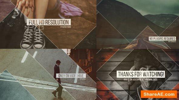 Videohive Square Slides // Elegant Slideshow