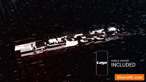 Videohive Digital Logo Reveal 23754080