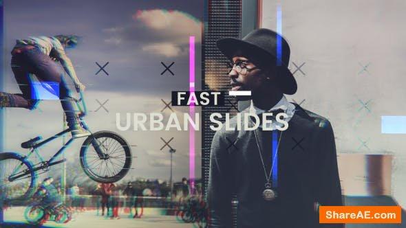 Videohive Fast Urban Slides