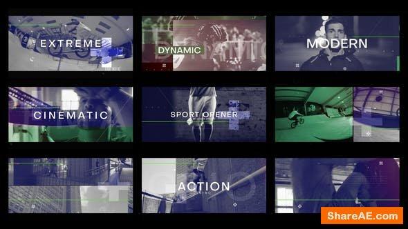 Videohive Sport Opener 22827531