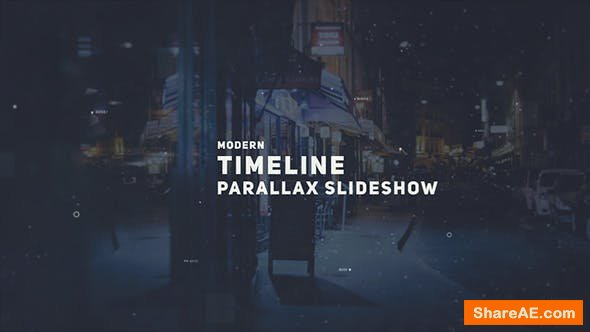 Videohive Parallax Timeline Slideshow 20586577