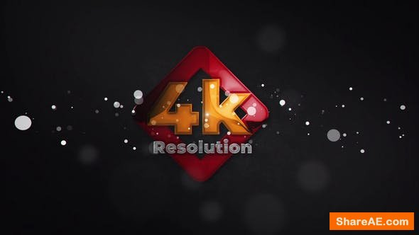Videohive Glossy Particle Logo Reveal