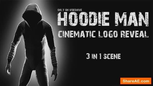 Videohive Hoodie Man - Cinematic Logo Reveal 3 in 1