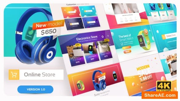Videohive Online Market | Universal Product Promo