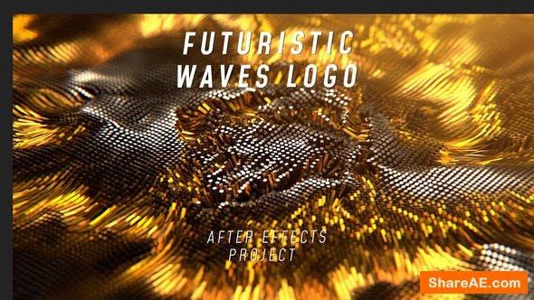 Videohive Futuristic Waves Logo