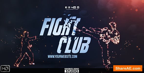 Videohive Fight Club Broadcast Pack