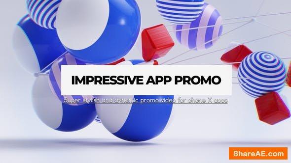 Videohive Impressive App Promo
