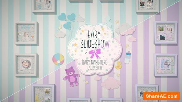 Videohive Baby Slideshow 22634236