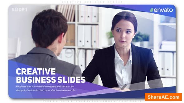 Videohive Creative Business Opener