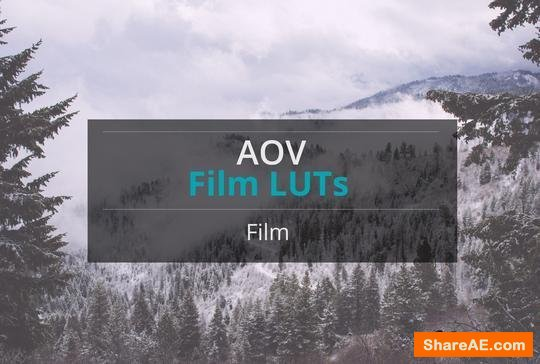 AOV Film LUTs Pack