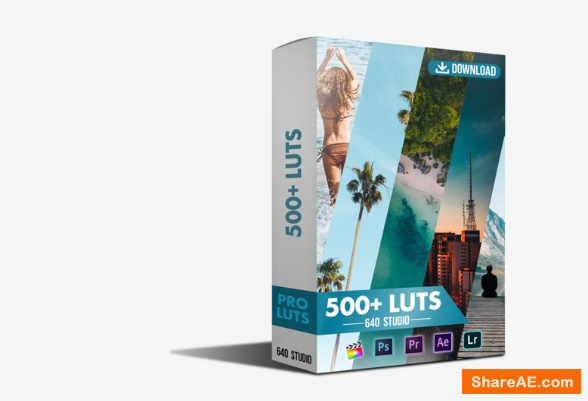540 Cinematic LUTS Pack - 640 Studio