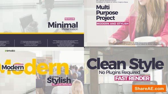 Videohive Minimal Presentation 21569816