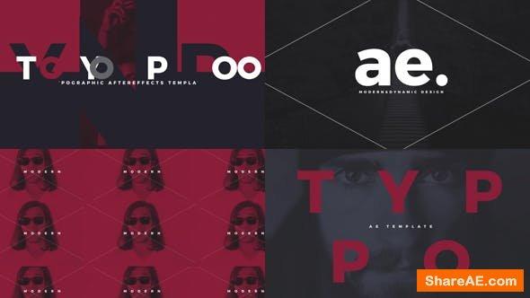 Videohive Typographic Intro