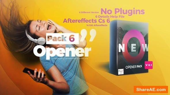 Videohive Opener Pack