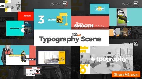 Videohive Typography 22293610