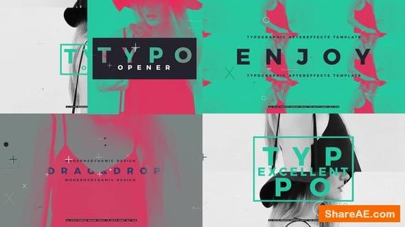 Videohive Typographic Opener 22588614