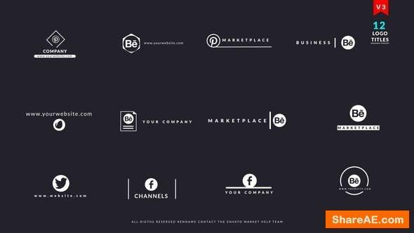 Videohive Logo Titles V3