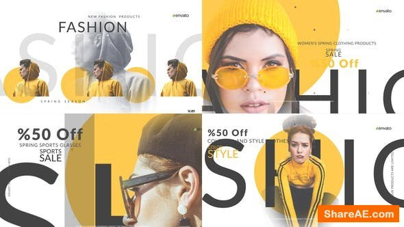 Videohive Fashion Market V2