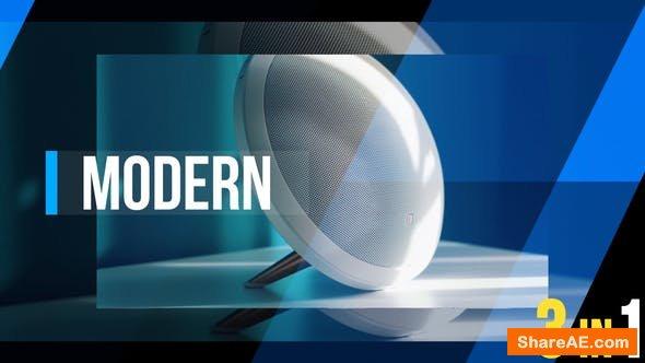 Videohive Modern Dynamic Opener 3 in 1