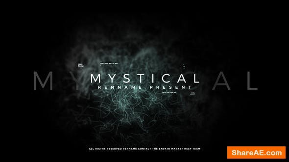 Videohive Mystical Titles