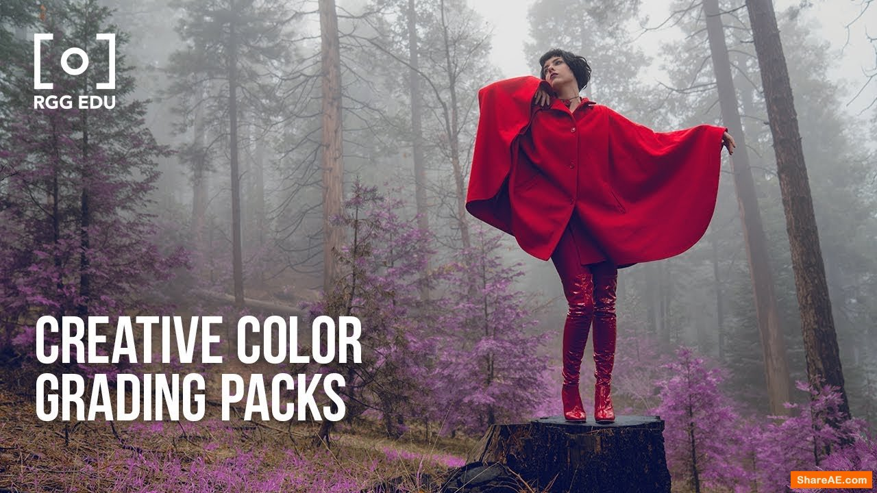 Creative Color Grading Packs - proedu