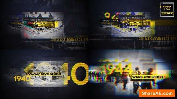 Videohive History Timeline V2