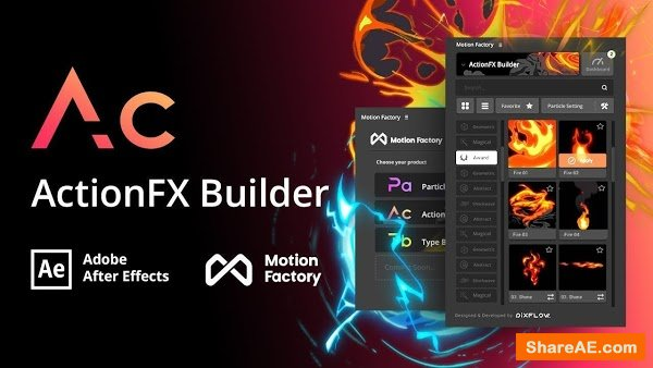 Motion Factory 2.41 Plugins for After Effects (2019)