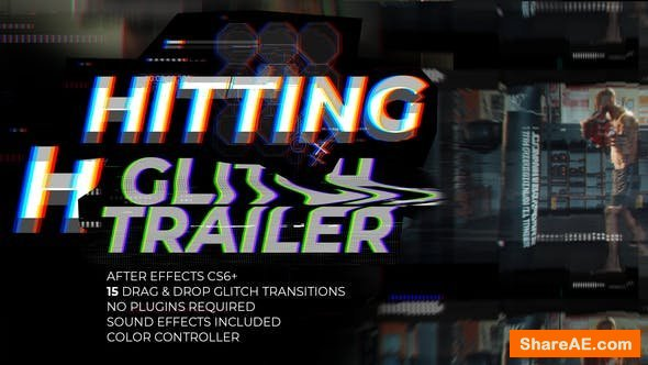 Videohive Glitch Trailer 21870608