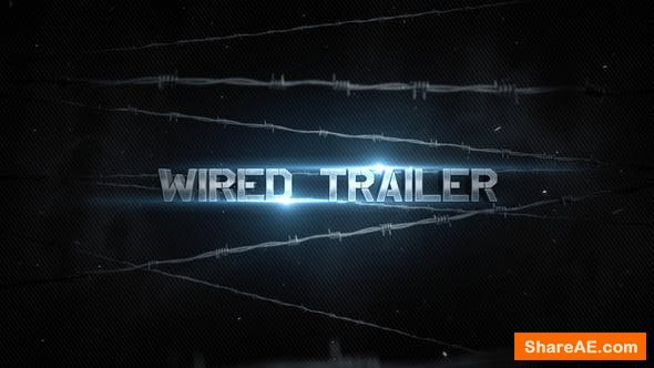 Videohive The Wired Trailer - After Effects Templates