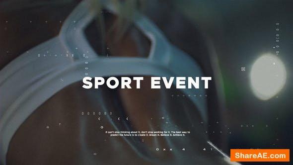 Videohive Sport Showreel