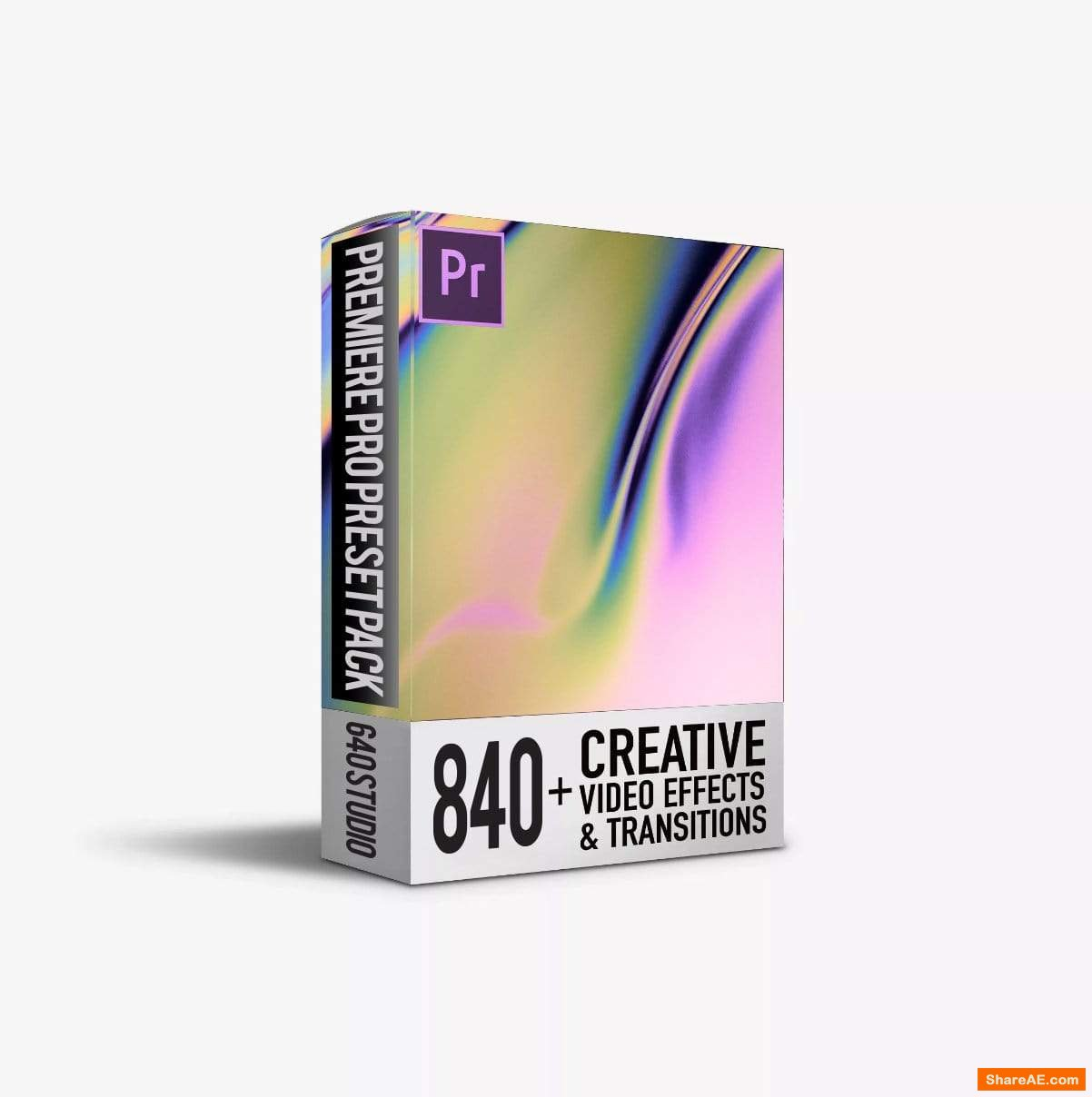840 Transitions Pack For Premiere Pro - 640studio