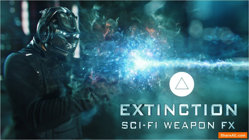 Extinction: Sci-Fi Weapons FX (4K)