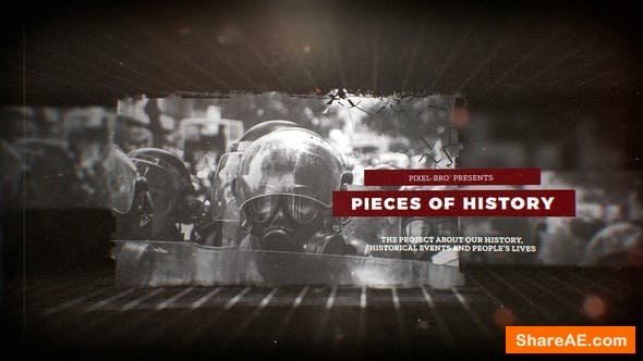 Videohive Pieces of History