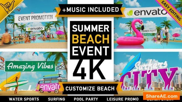 Videohive Summer Beach - Holiday Resort Party Event