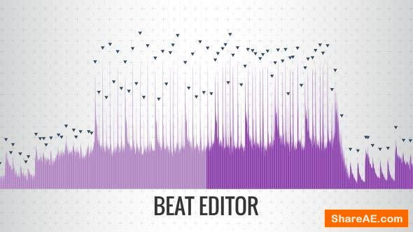 Videohive Beat Editor | After Effects Script